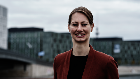 Portrait of Daniela Dietmayr, Policy Officer for Knowledge Management