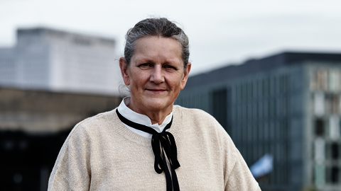 Portrait of Hanneke Brouwer, seconded national expert from The Netherlands